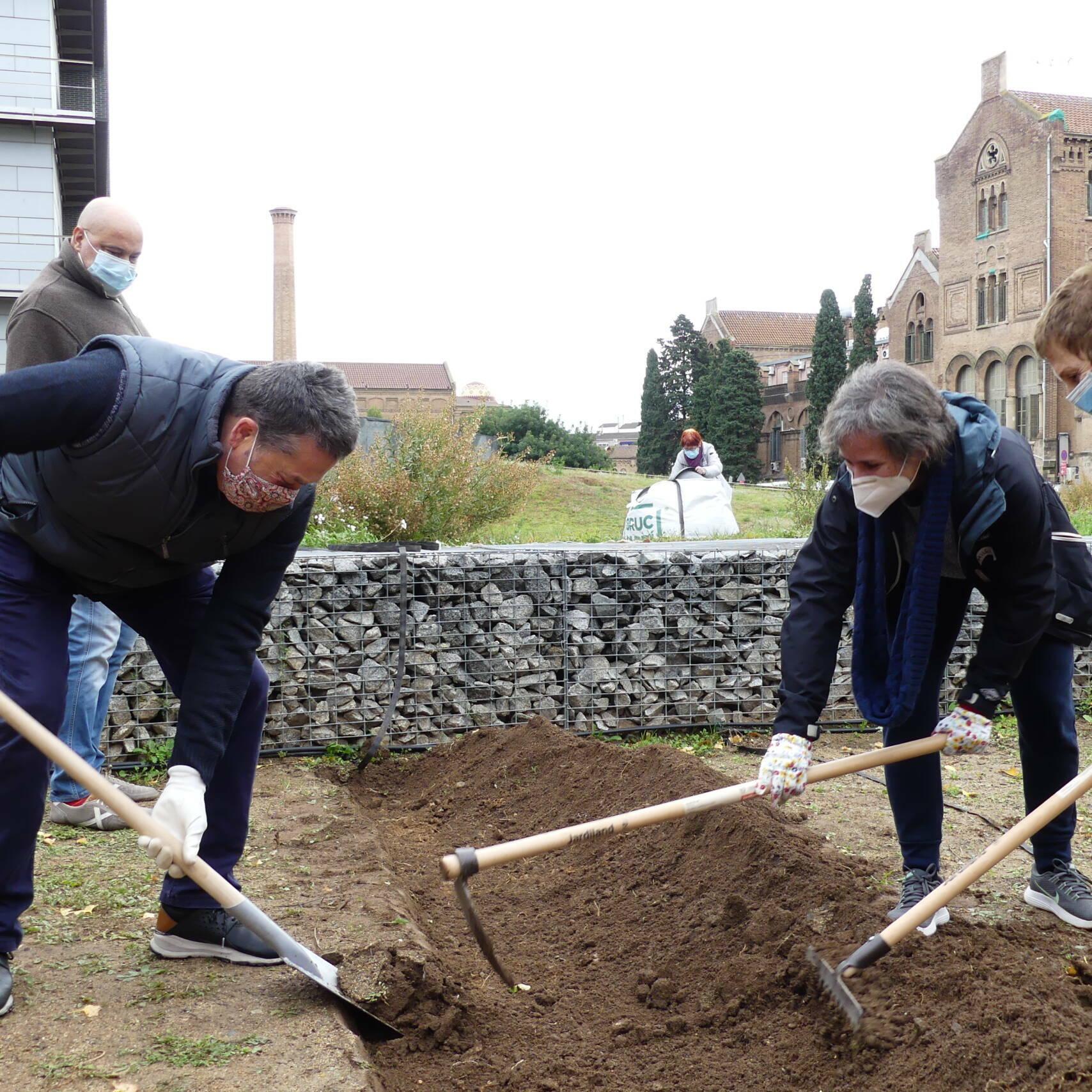 Horticultura Social a Kālida Sant Pau