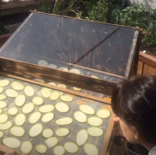 Construcció d'un deshidratador solar